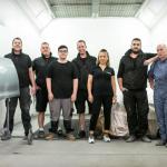 Das Team vom Lackcenter Karlsruhe